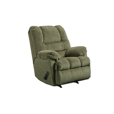 Rocker Recliner Upholstery: Sage Green