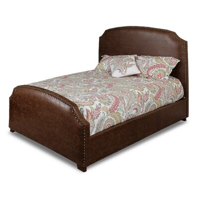 Carey Saddle Panel Bed Size: Queen