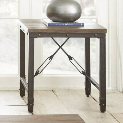 Cast Iron End Table