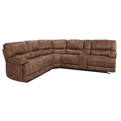Microsuede Reclining Sectional