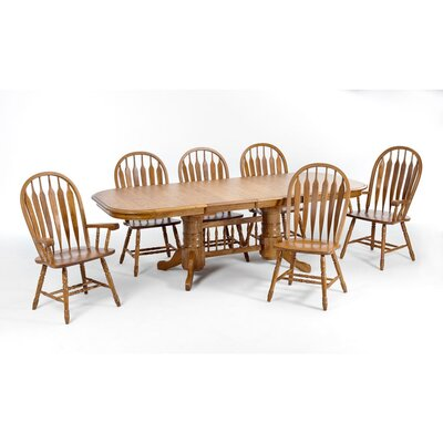 Akron 9 Piece Dining Set