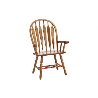 Akron Windsor Back Solid Wood Dining Chair