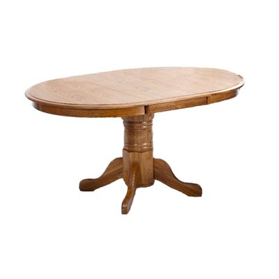 Scheele Oak Extendable Dining Table