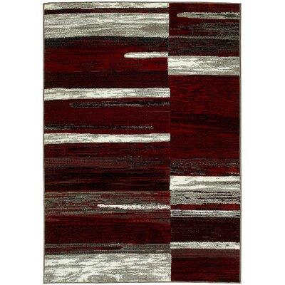 Kian Red/Gray Area Rug