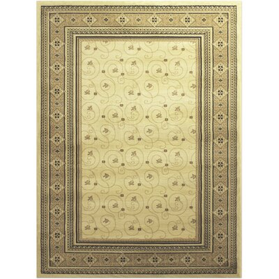 Villiam Traditional Ivory Area Rug