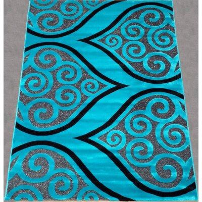 Athol Contemporary Blue Area Rug