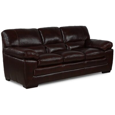 Extra Plush Sofa Upholstery: Black Oak