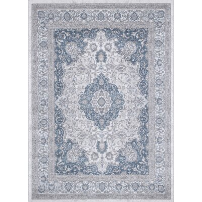 Berneen Traditional Oriental Rectangle Tusk Area Rug
