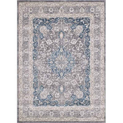 Woodridge Floral Glacier Area Rug
