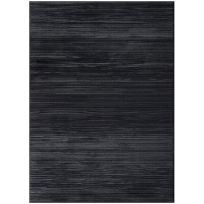 Ophelia Black Area Rug
