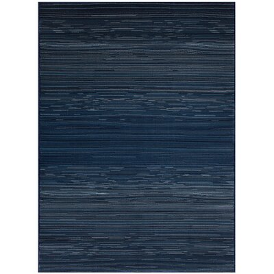 Jagruti Rectangle Thunder Blue Area Rug