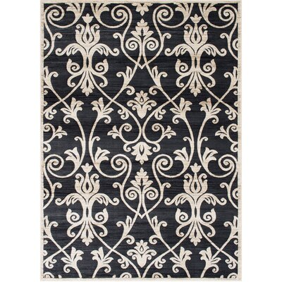 Audric Floral Ash Area Rug