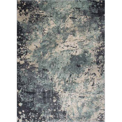 Faunia Abstract Pistachio Area Rug