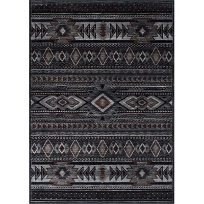 Derek Tribal Midnight Area Rug