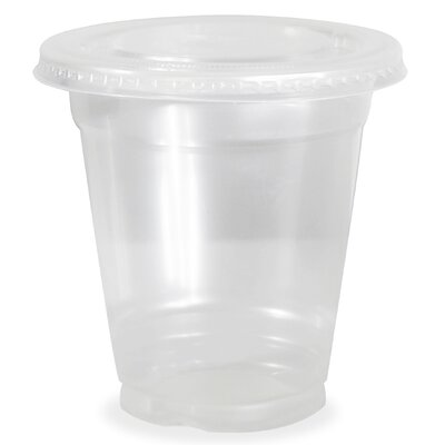 12 oz. Plastic Everyday Cup ESCup 12Flat - 100pk