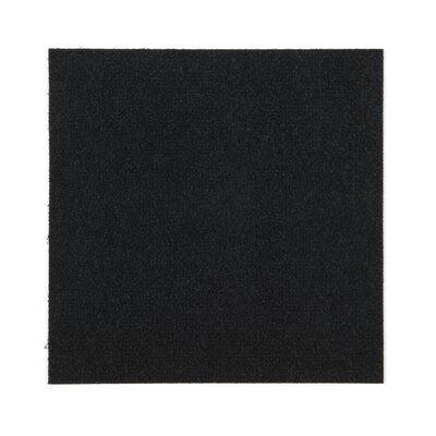 12 x 12  Area Rug in Black