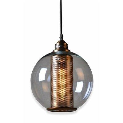 Inner Core 1-Light Globe Pendant