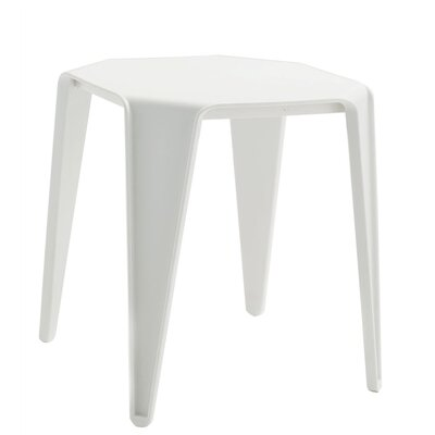 Urano End Table Color: White