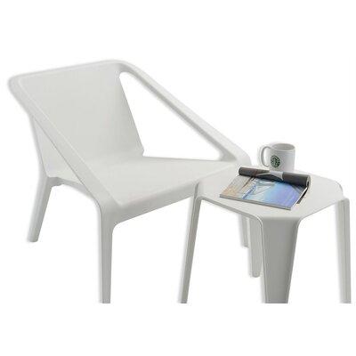 Lovely Armchair Finish: White