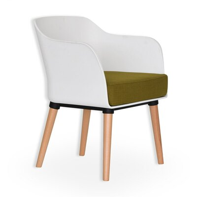 Amaranto Armchair Finish: White