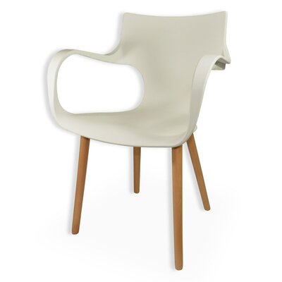 Big Arms Arm Chair Finish: White
