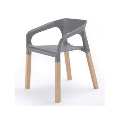 Symphony Arm Chair Finish: Gray