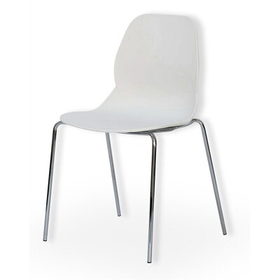 Cactus Side Chair Finish: White