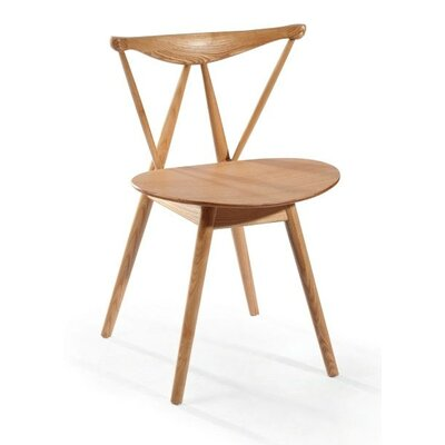 Praying Tower Solid Wood Dining Chair