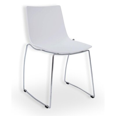 Mantis Side Chair Finish: White