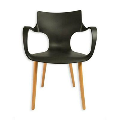 Big Arms Arm Chair Finish: Black