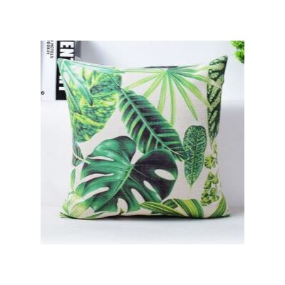 Botanical Throw Pillow Cover