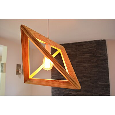 1-Light LED Geometric Pendant