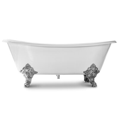 Katharine 71 x 31 Freestanding Soaking Bathtub