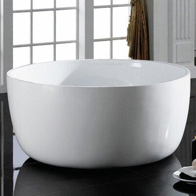 Vale 53.19 x 53.19 Freestanding Bathtub