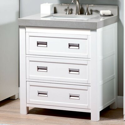 Burton 30 Single Bathroom Vanity Base