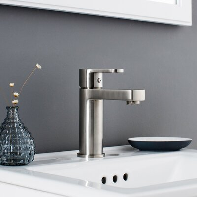Allegro Single Hole Bathroom Faucet  Finish: Brushed Nickel