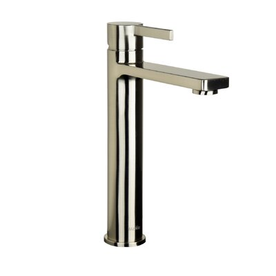 Friedrich Tall Single Lever Handle Bathroom Faucet Finish: Brushed Nickel