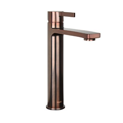 Friedrich Tall Single Lever Handle Bathroom Faucet Finish: Oil-Rubbed Bronze