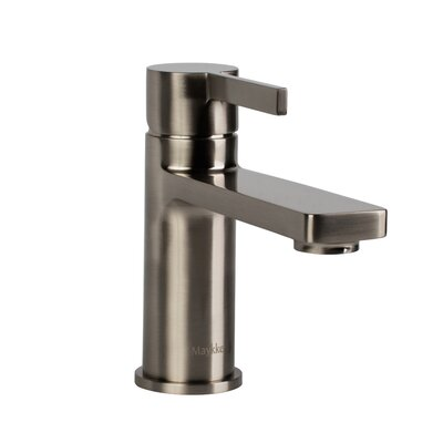 Friedrich Single Hole Single Handle Bathroom Faucet Finish: Brushed Nickel