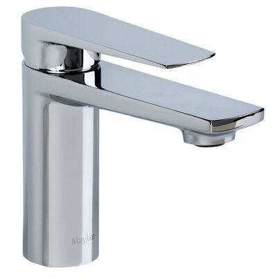 Adalbert Single Handle Bathroom Faucet Finish: Brushed Nickel, Size: 6.63 H x 1.75 W x 5.63 D
