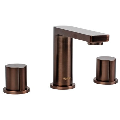 Friedrich Widespread Knob Handle Bathroom Faucet Finish: Oil-Rubbed Bronze
