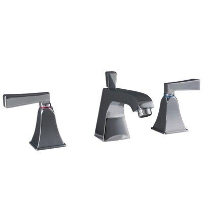 Severo 3 Piece Widespread Wrist Blade Bathroom Faucet Set Finish: Polished Chrome