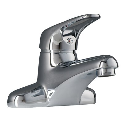 Zarif Centerset Lever Handle Bathroom Faucet Finish: Polished Chrome