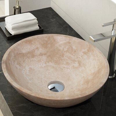 Helena Stone Circular Vessel Bathroom Sink