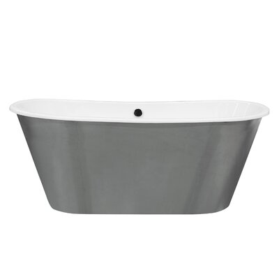 Woodward Cast Iron 67 x 26 Freestanding Soaking Bathtub