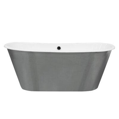 Woodward Cast Iron 67 x 26 Freestanding Soaking Bathtub