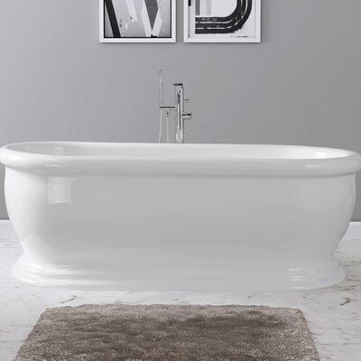 Elizabeth 69 x 31 Freestanding Soaking Bathtub