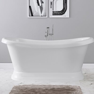 Evelyn 65 x 28 Freestanding Soaking Bathtub