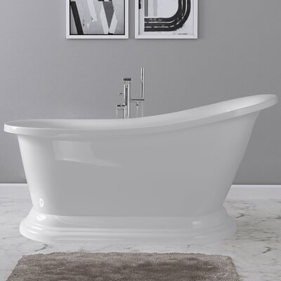 Frances 67 x 30 Freestanding Soaking Bathtub