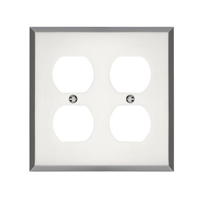 Graham Double Duplex Socket Plate Finish: Polished Chrome